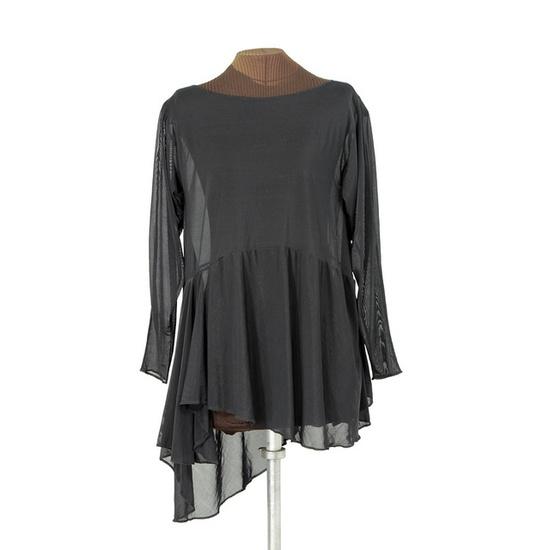 Sheer black layering dress by Secret Lentil, via Flickr