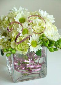 Anniversary Daisies with Hydrangea