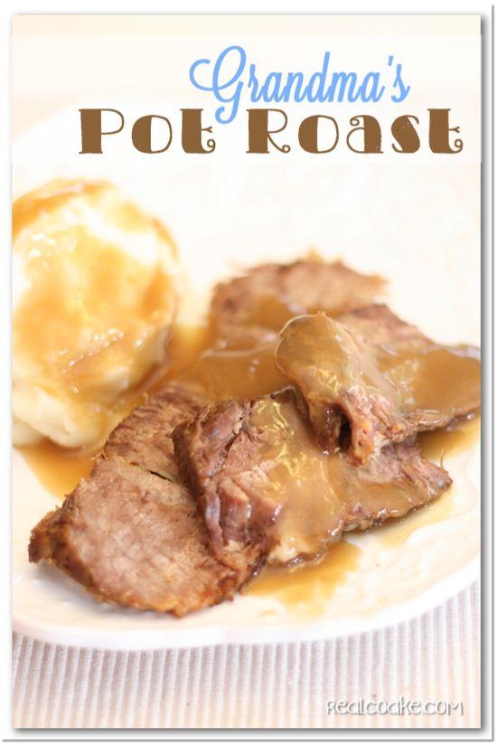 Grandma's Pot Roast on MyRecipeMagic.com