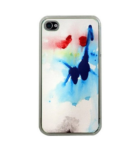 Abstract water color print iPhone case.