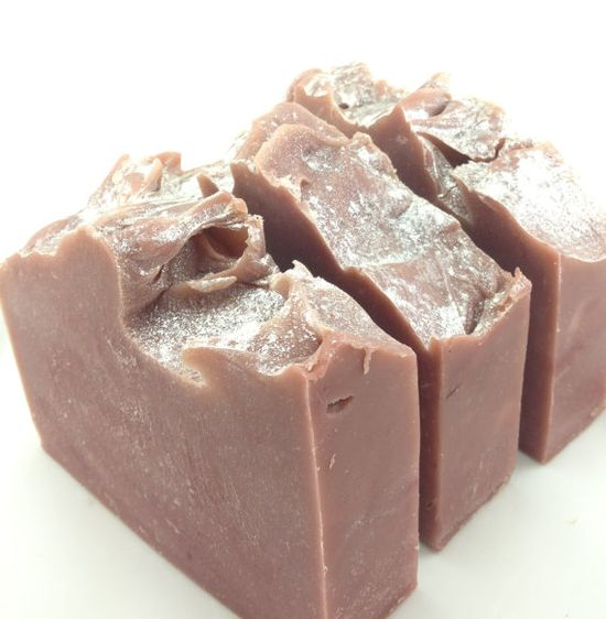 Frosted Cranberry Cold Process Soap with Coconut by WickedSoaps, $6.00