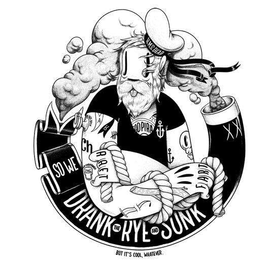 Rock N' Roll: Cool Illustrations and Tunes by Mcbess