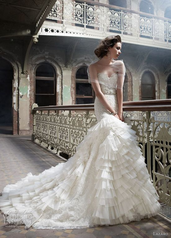 lazaro 3200 wedding dress