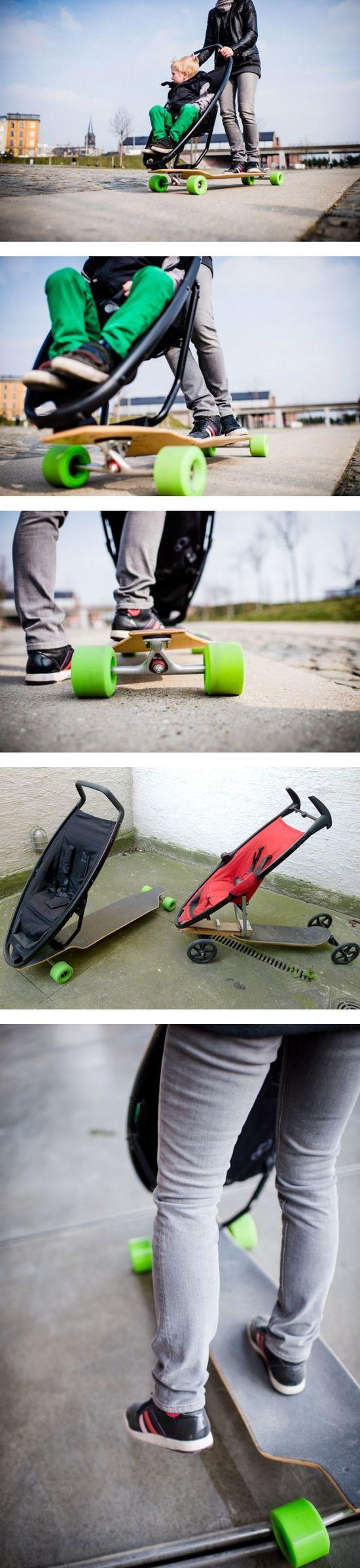 Longboard Stroller,