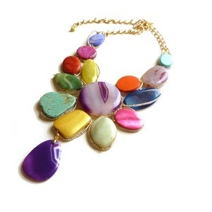Fun Colorful Necklace.