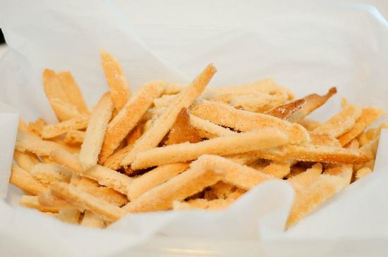 sugar cookie fries