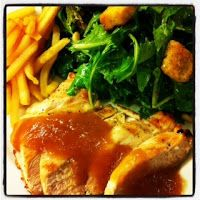 Chicken with Bourbon Peach Butter #cooking #recipes