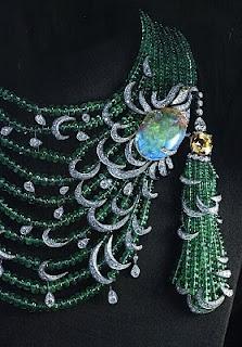 Cartier: emerald, opal, diamond, gold