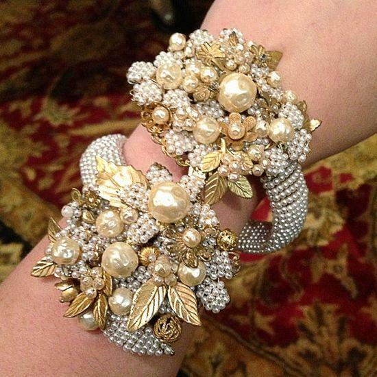 Miriam Haskell Wrap Bracelet