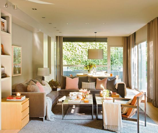 Sunny living room designs