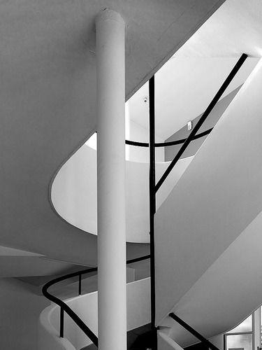Villa Savoye by Le Corbusier, France.