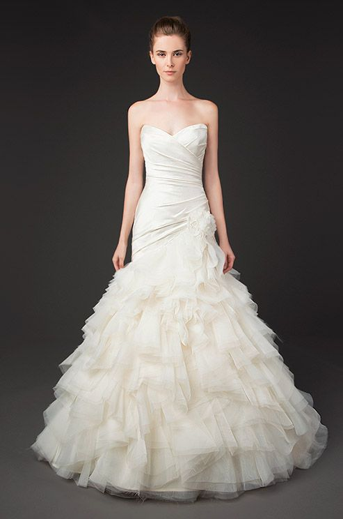 Sweetheart and ruffles. Winnie couture, Fall 2014
