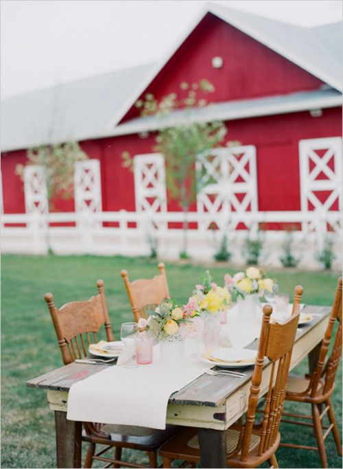 farm dining - this is beautiful!