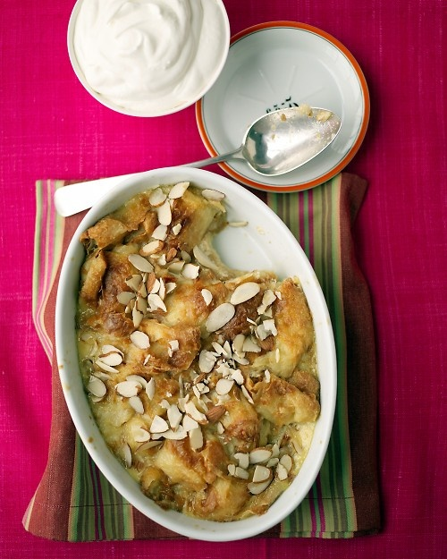 What's even better than bread pudding? Croissant Pudding!