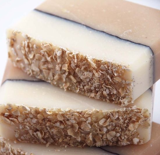 Oatmeal and Honey Soap Handmade Cold Process, Vegan Friendly