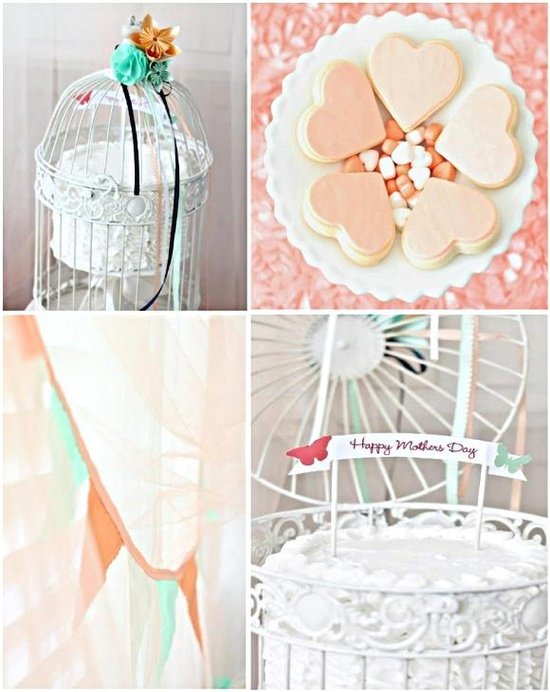 Mother's Day Desserts Table Ideas