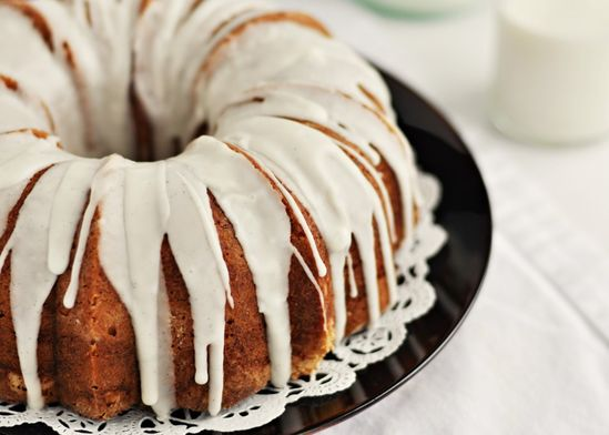 Vanilla Bean Bundt Cake with Vanilla Bean Glaze