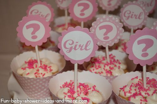 printable baby shower cupcake wrappers and toppers