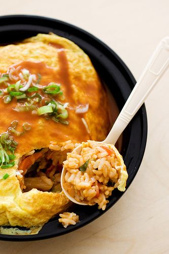 japanese omurice(omelet) - picture only