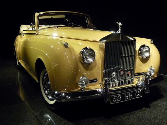 1959 Rolls Royce. Superb! yellow cars