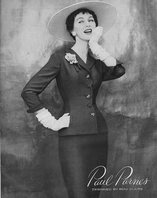 Endlessly lovely! #vintage #fashion #1950s #suit