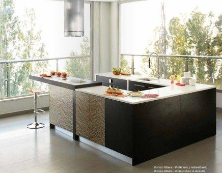 Multicolor modern kitchen design