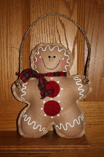Gingerbread Door or Wall Decor