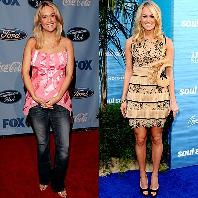 Carrie Underwood...cute then, cute now!