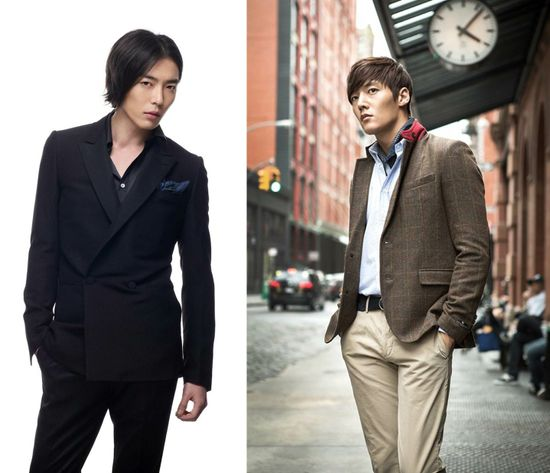 What's your style? Find the perfect man with this K-guy style guide Kim Jae Wook and Choi Jin Hyuk. TIE
