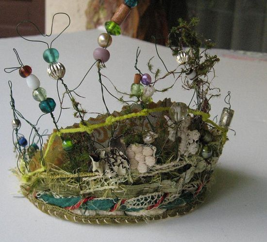 Fairie Crown by Baggaraggs on Etsy