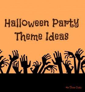 10 Halloween Party Ideas #partythemes
