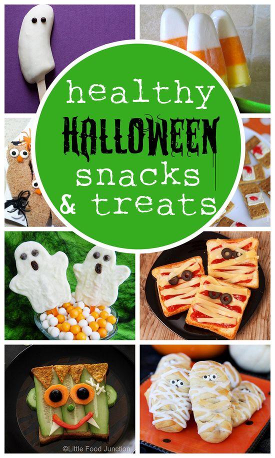 Cute and healthy Halloween snacks