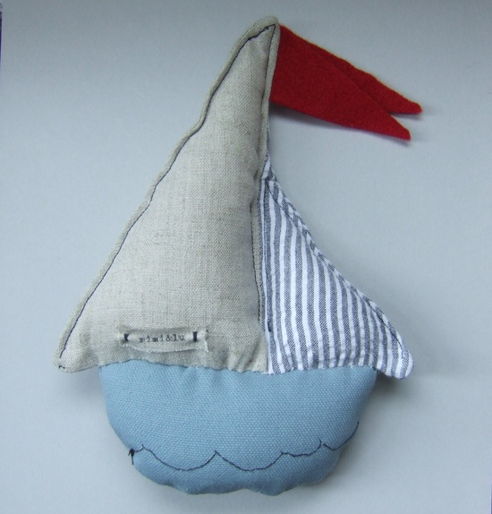 DIY Sebastian's boat l soft ship for babies