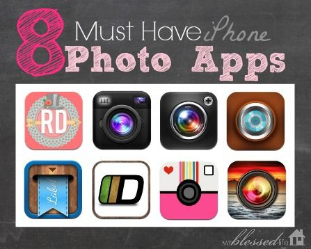 8 Awesome iPhone Photo Apps