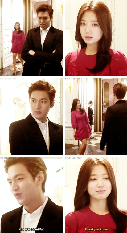 "Lee Min Ho and Park Shin Hye ? #Kdrama - ""HEIRS"" / ""THE INHERITORS"""