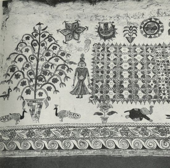 """Ritual Wall and Floor Decoration in India"" by Oppi Untracht"