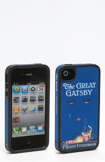 Out of Print 'Great Gatsby' iPhone 4 & 4S Case