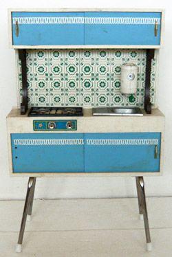 60s doll kitchen