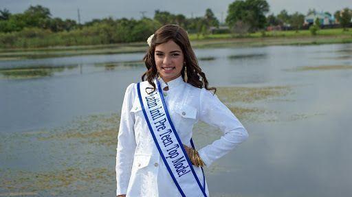LA JOVEN VENEZOLANA PAOLA ALEJANDRA FERNANDEZ Ganadora DEL CONCURSO INTERNACIONAL DE AMÉRICA PRE-TEEN TOP MODEL