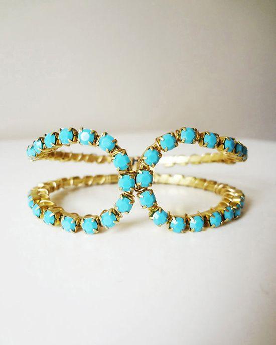 turquoise bracelet ?