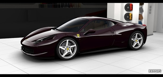 Car Configurator - GT & Sport Cars: Current Range  -  FerrarI