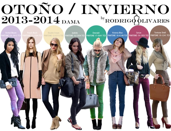 Fall Winter 2013 - 2014 Color Report Women