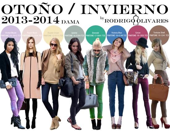 Fall Winter 2013 - 2014 Color Report Women