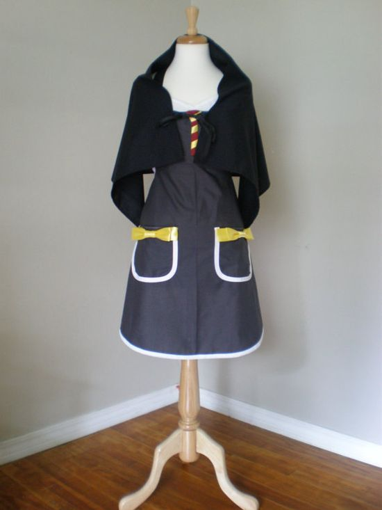 Harry+Potter++inspired+cosplay+Costume+Apron+by+HauteMessThreads,+$50.00