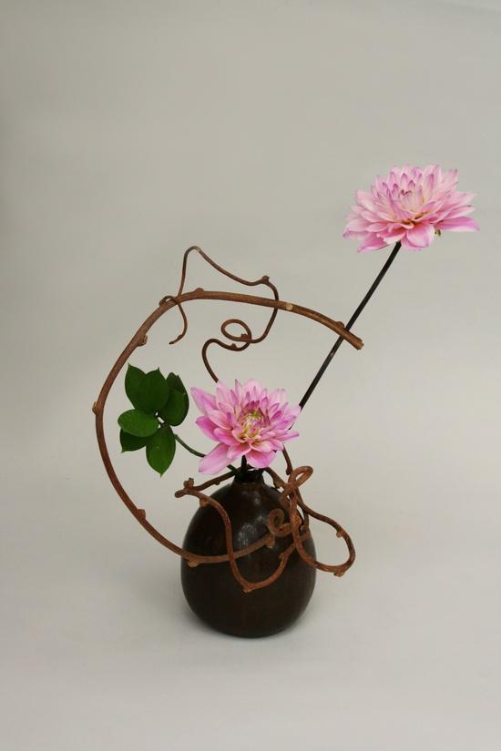 dahlias  #ikebana #flower #arrangements
