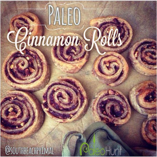 Paleo cinnamon rolls #paleo #paleohunt