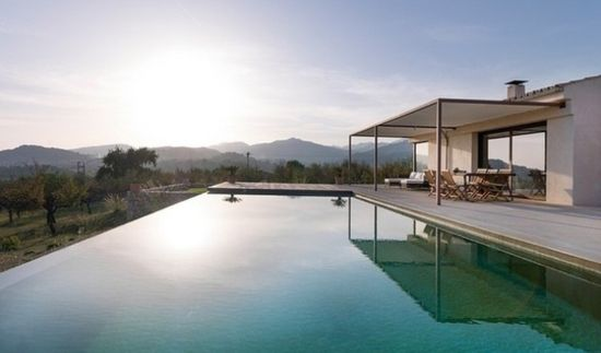 modern house design in mallorca