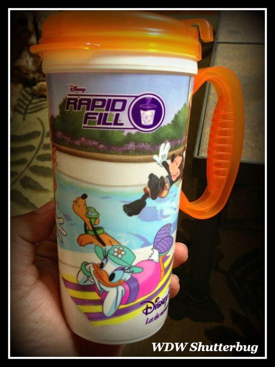 Refillable Disney Resort Mugs - how it works ... and Is it worth the cost?