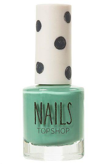 Topshop 'Cream' Nail Polish #Nordstrom