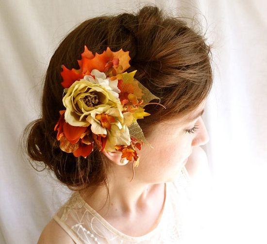 HONEY BUNCH ~ Autumn hair accessory ?